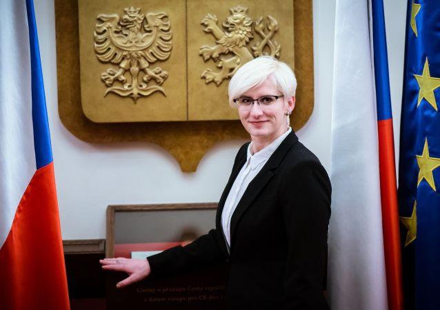 Bývala ministryně obrany ČR Karla Šlechtová