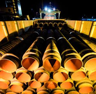 Roury pro plynovod Severní proud 2