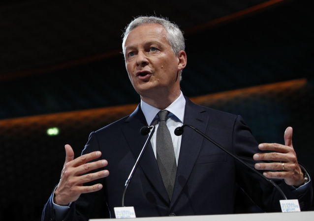 Francouzský ministr ekonomiky a financí Bruno Le Maire