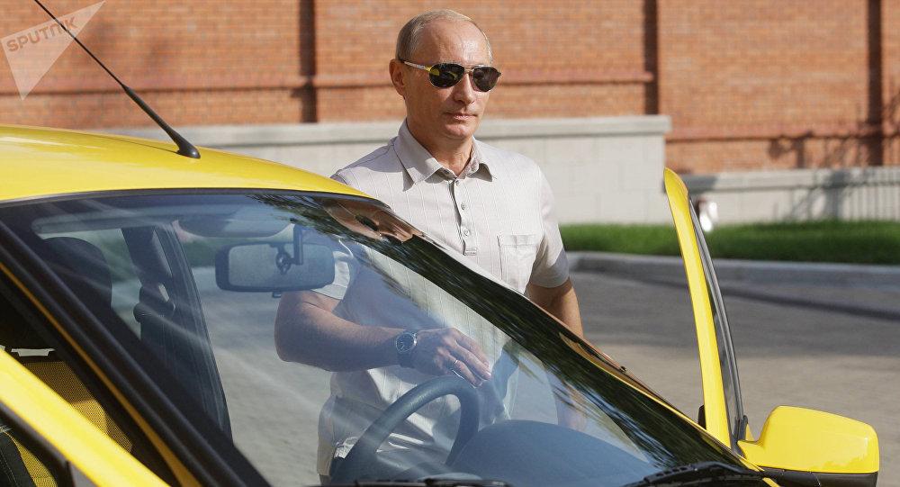 Vladimir Putin v roce 2010