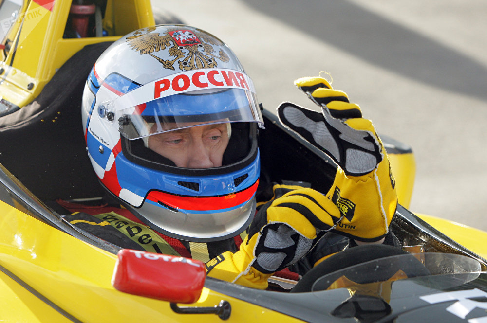 Vladimir Putin ve Formuli-1.