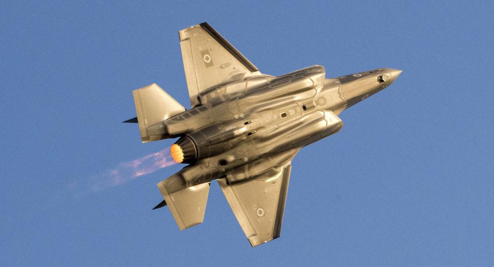 Izraelská stíhačka F-35 Lightning II