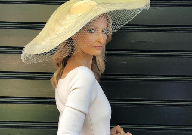 Tereza Maxová na svatbě prince Harryho a Megan Markleové