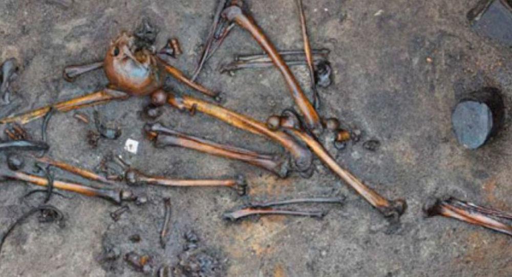 Lidské kosti objevené v Dánsku