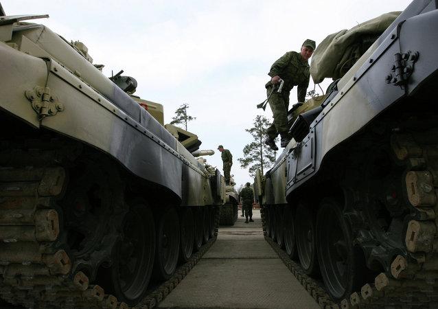 Tanky T-72. Ilustrační foto