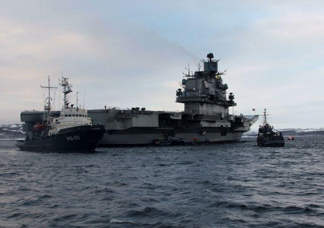 Admiral Kuzněcov v Severomorsku