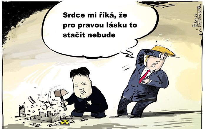 Trump obvinil Kima z maření summitu