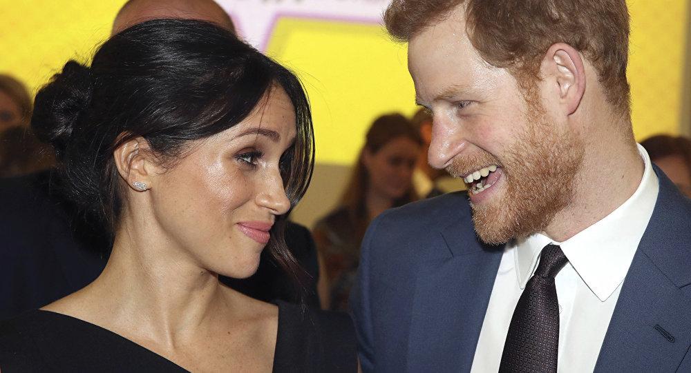 Princ Harry a jeho manželka Megan Markleová