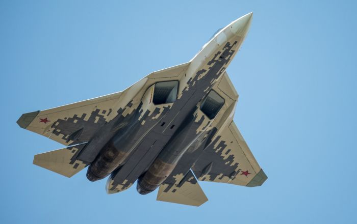 Stíhací letouny páté generace Su-57