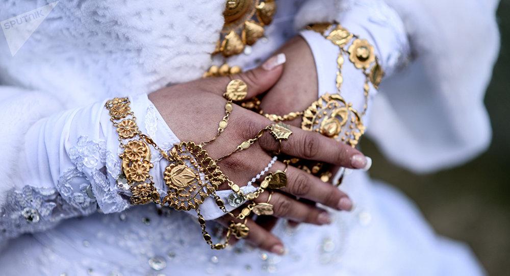 Romská svatba v Novgorodské oblasti