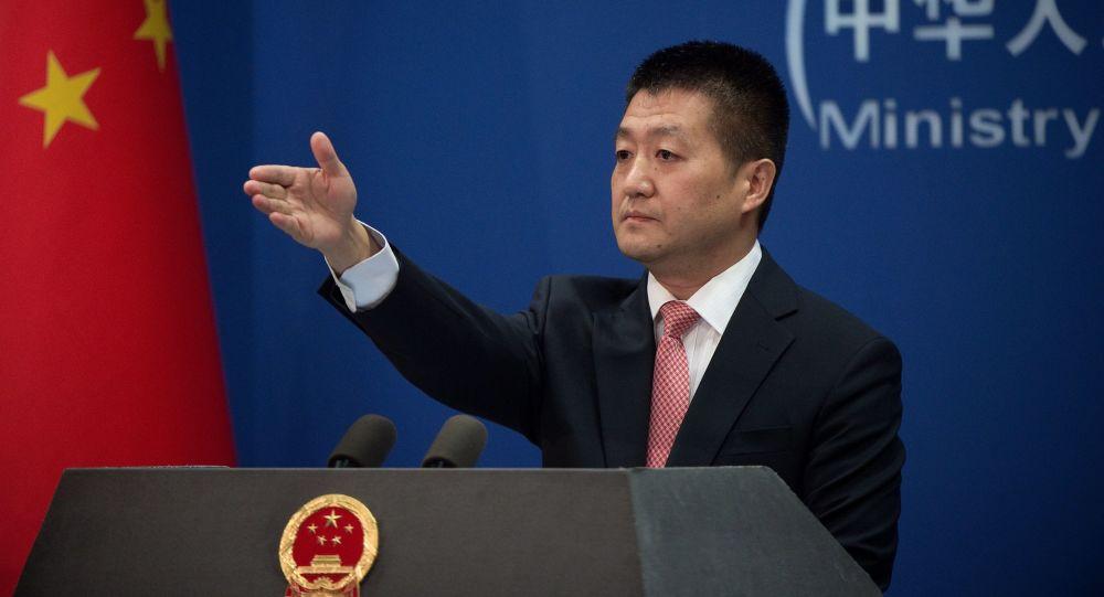 Mluvčí čínského ministerstva zahraničí Lu Kang