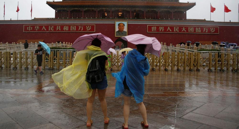 Déšť v Pekingu
