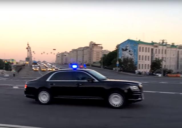 Kolona vozidel Kortež