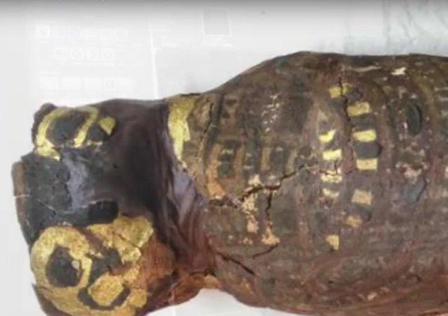 Bylo odhaleno tajemství maličké egyptské mumie (VIDEO)