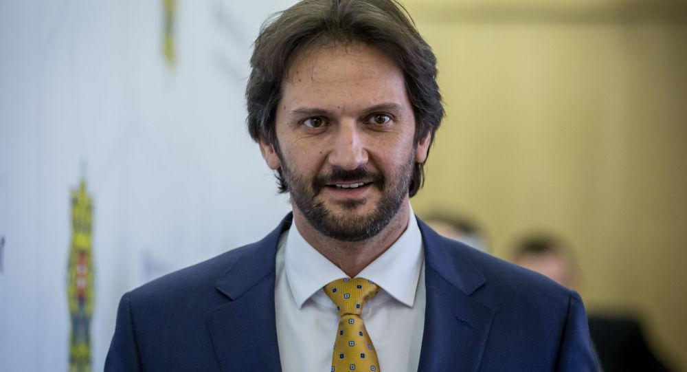 slovenský exministr vnitra Robert Kaliňák