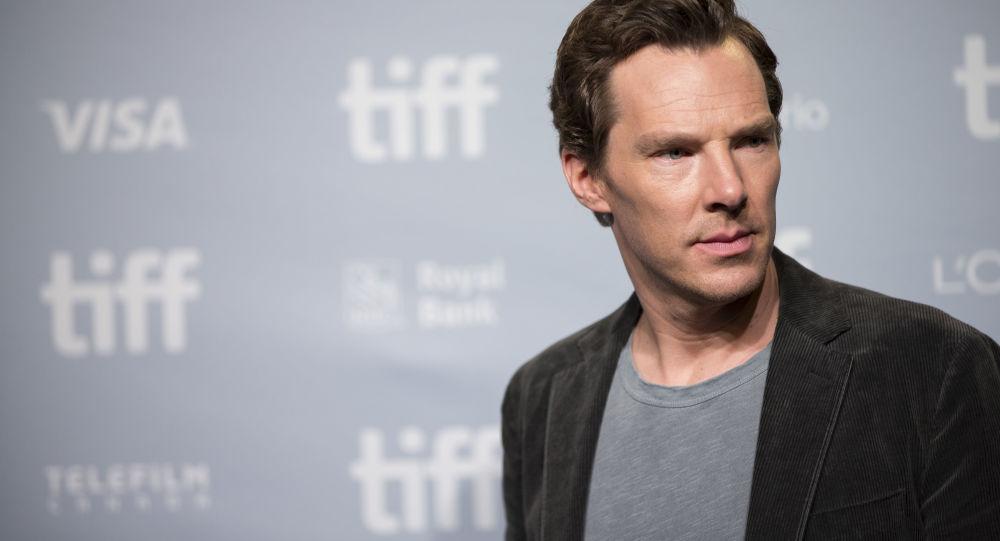 Britský herec Benedict Cumberbatch