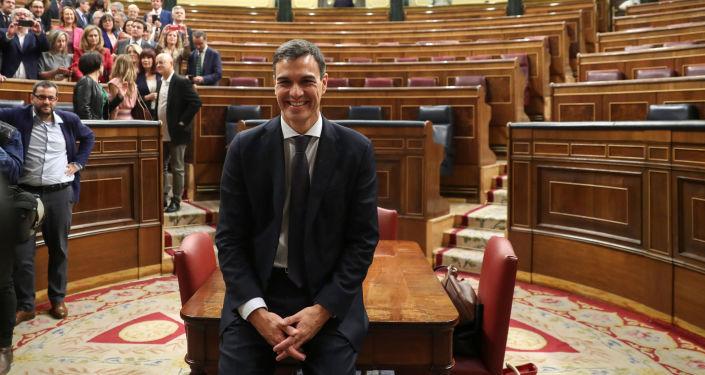 Španělský premiér Pedro Sánchez