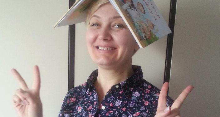 Ukrajinská dětská spisovatelka Larysa Nicojová