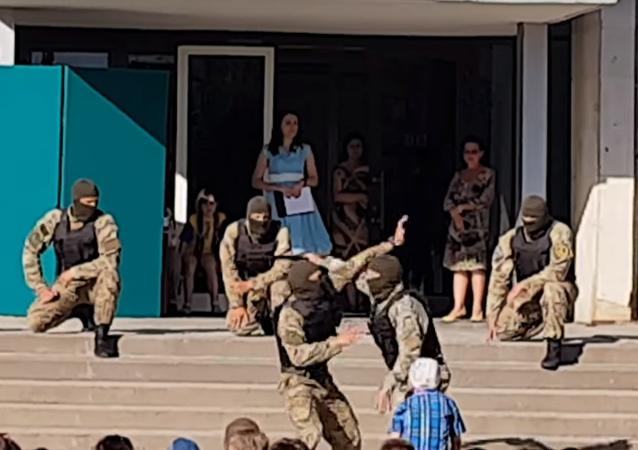 Na sociálních sítích kritizovali výkon ukrajinských speciálních sil před dětmi