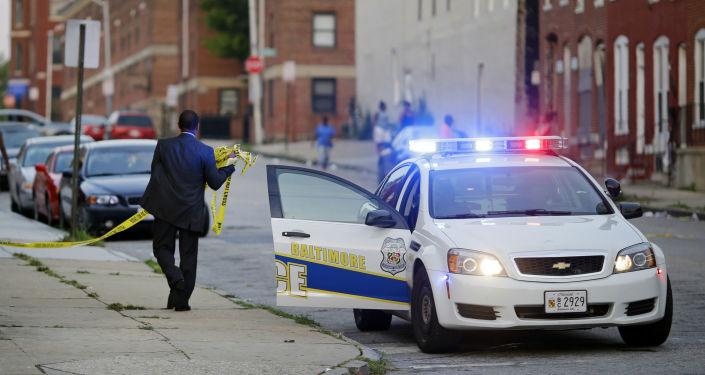 Americká policie. Ilustrační foto