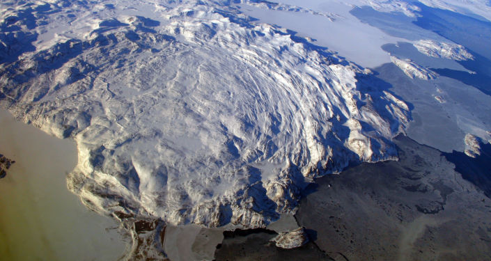 Horské pásmo Kiglapait. Ilustrační foto