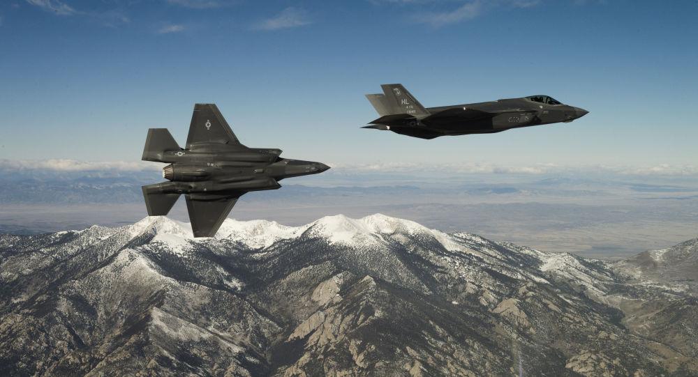 Americké stíhačky F-35A Lightning II