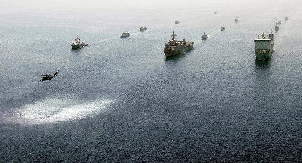 Vojenské cvičení v Perském zálivu