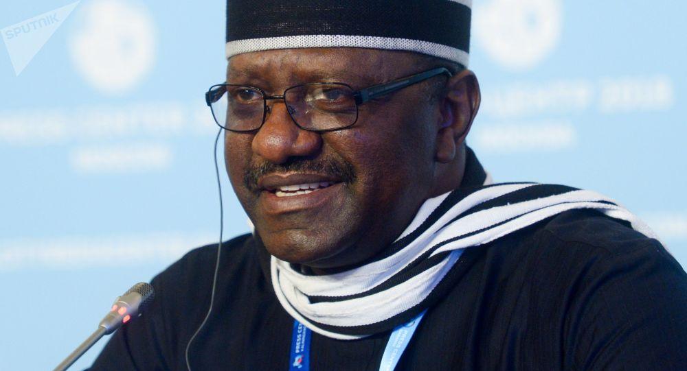 Mimořádný a zplnomocněný velvyslanec Federativní republiky Nigérie v RF Davis Ugba