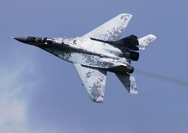Slovenská stíhačka MiG-29AS