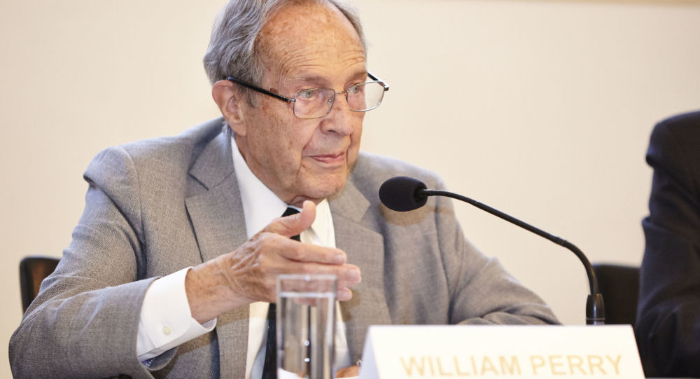 Exministr obrany USA William Perry