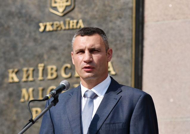 Kyjevský starosta Vitalij Kličko