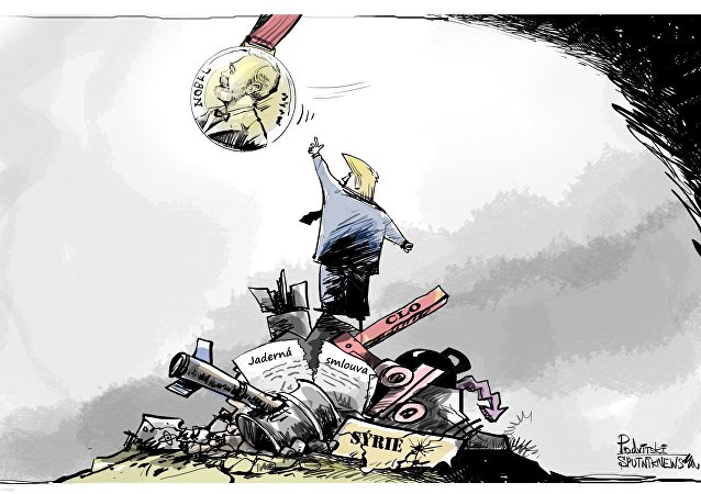 zasloužená odměna Trumpa