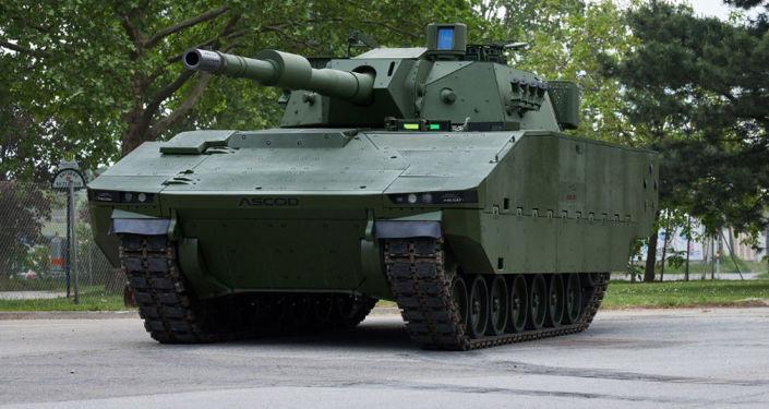Tank ASCOD od společnosti General Dynamics European Land Systems