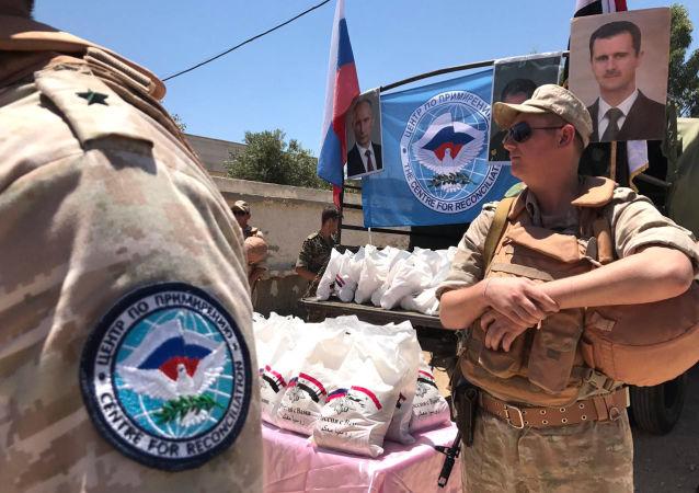 Ruští vojáci v Sýrii