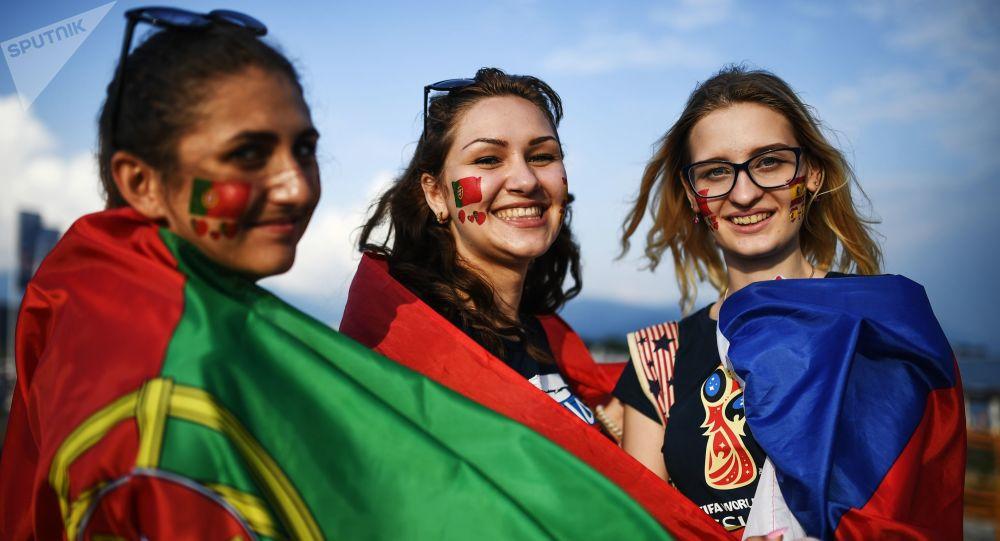 Fanynky týmu Portugalska