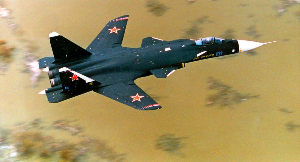 Stíhací letoun Su-47 Berkut
