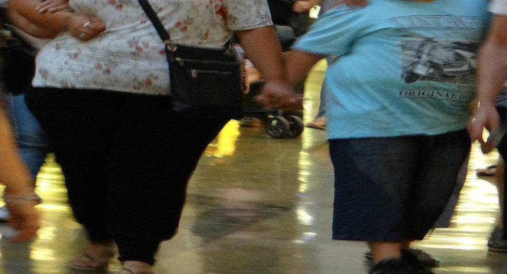 tlustá matka a dítě