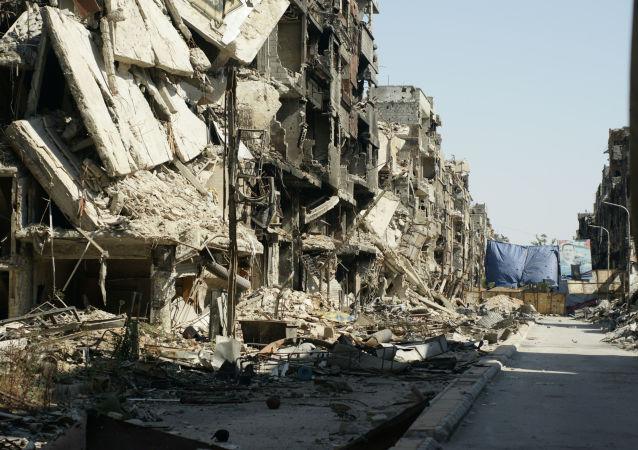 Zříceniny v Damašku