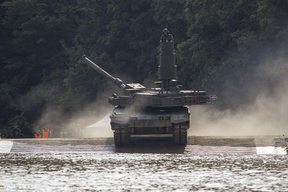 Jihokorejský tank K2 Black Panther