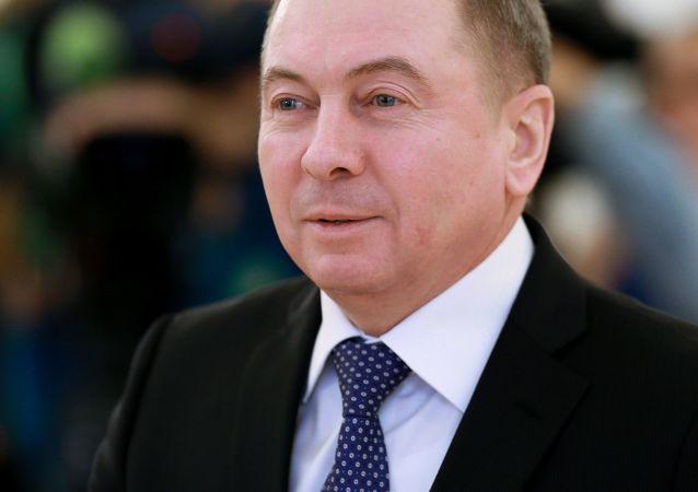 Běloruský ministr zahraničních věcí Vladimir Makej