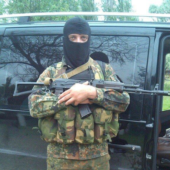 Základna pluku Azov. Sergej Sanovskij