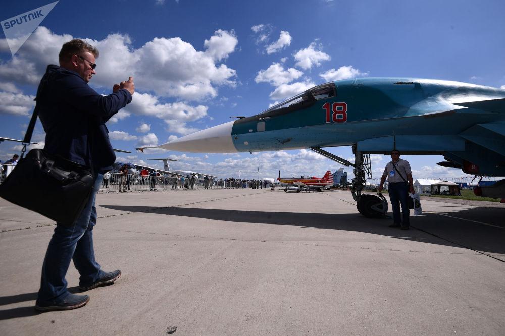 """""""Pekelné káčátko"""": SU-34 označili za nejděsivější úderový stroj ve světě"""