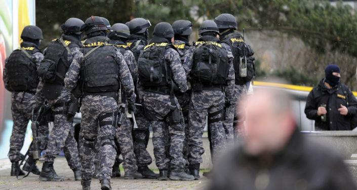 České jednotky zvláštního určení v Praze. Ilustrační foto