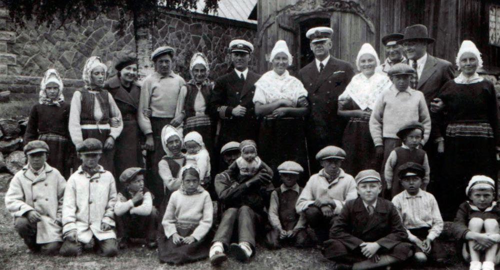 Estonští Švédové, 1937