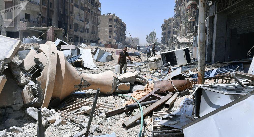 Damaček, Sýrie