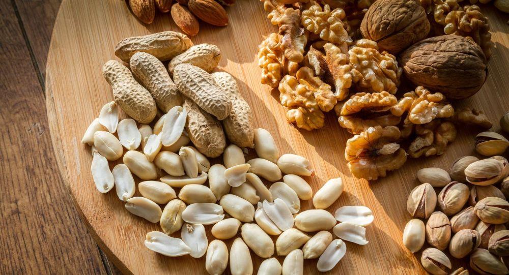 Různé ořechy