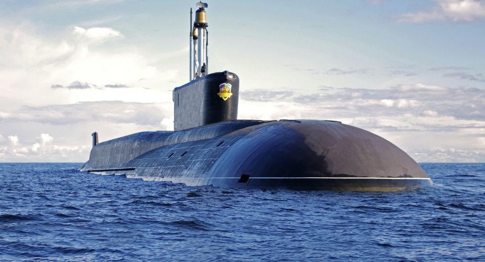 Strategická jaderná ponorka Alexandr Něvský projektu 955 Borej
