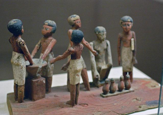 Pozůstatky nejstaršího pivovaru na Zemi, které byly objeveny na území delty Nil