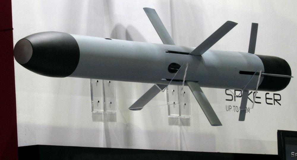 Protitanková raketa od izraelské společnosti Rafael