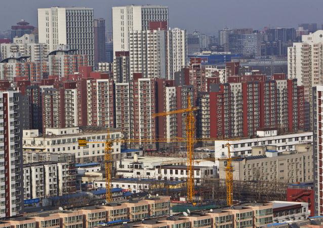 Pohled na Peking